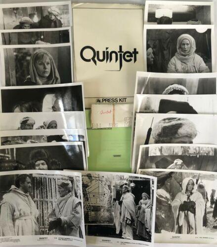"""QUINTET"" ORIGINAL MOVIE PRESS KIT! EXTREMELY RARE, 1979, DIR. ROBERT ALTMAN!"