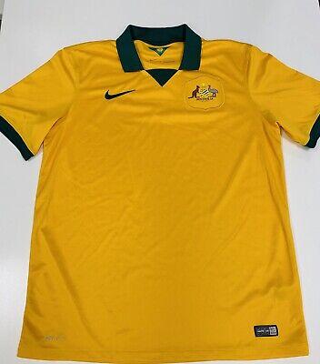 AUSTRALIA soccer 2014 Soccer Jersey L -pre Owned - Futbol  image
