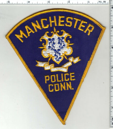 Manchester Police (Connecticut) 1st Issue Shoulder Patch