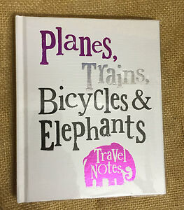 The Bright Side 'Planes, Trains, Elephants' 'Travel Journal Diary Traveller Gift