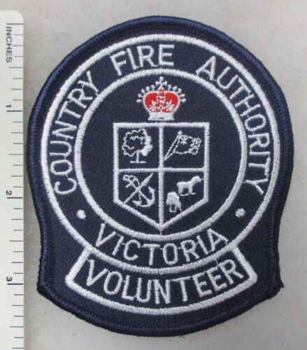 Vintage PATCH VICTORIA AUSTRALIA COUNTRY FIRE AUTHORITY VOLUNTEER