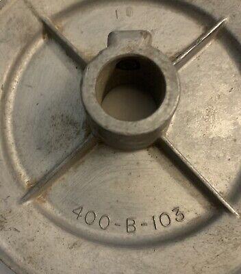 Craftsman V Belt Pulley 400-b-103 Vintage