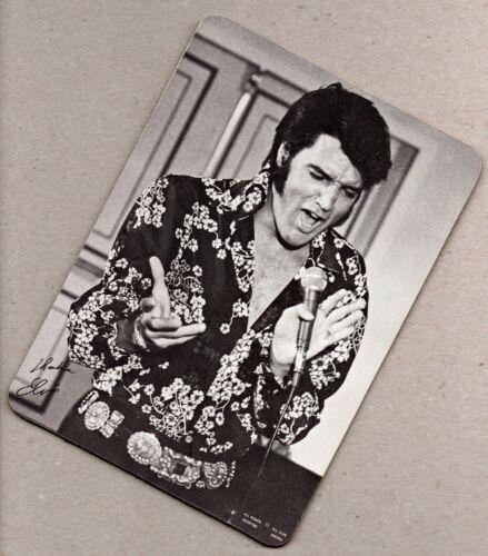* MINT * RARE Elvis Presley LP Bonus Double-Sided Photo Card