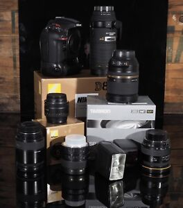 Nikon D800 camera package for sale.