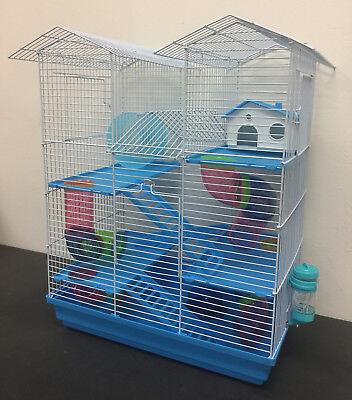 5-Level Large Twin Tower Syrian Hamster Habitat Gerbil Degu