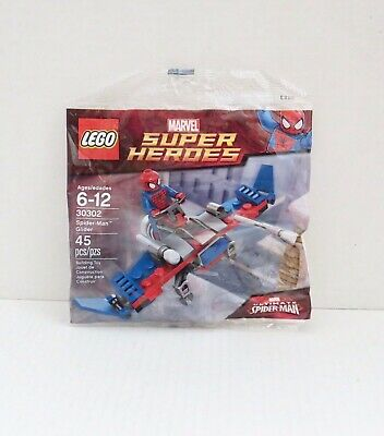 Lego #30302 Marvel Super Heroes SPIDER- MAN GLIDER NIP Polybag
