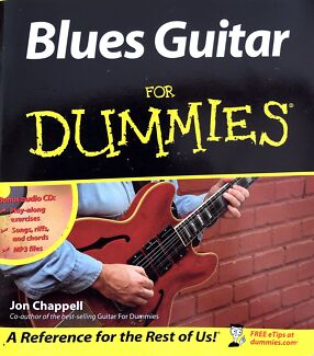 Wanted: Blues Guitar for Dummies, Book & CD
