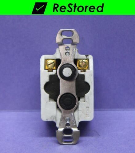 ✅ Vintage Push Button Light Switch, Single-Pole ON/OFF Porcelain - 10A - Perkins