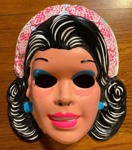 Vintage & Unused Bridal Barbie Halloween Costume Mask Collegeville Ben Cooper