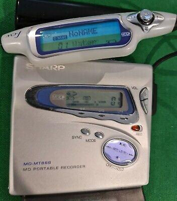 13. Sharp MD-MT888W(S) Mini Disc Player