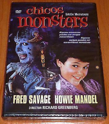 CHICOS MONSTERS / LITTLE MONSTERS - DVD R ALL English Español Precintada
