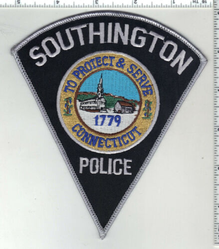 Southington Police (Connecticut) 3rd Issue Shoulder Patch