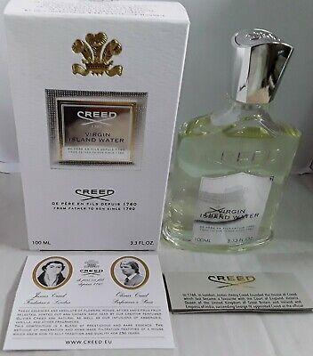 Virgin Island Water von Creed Flakon NEU 100 ml plus TZ und Proben  - Creed Virgin Island Water Parfum