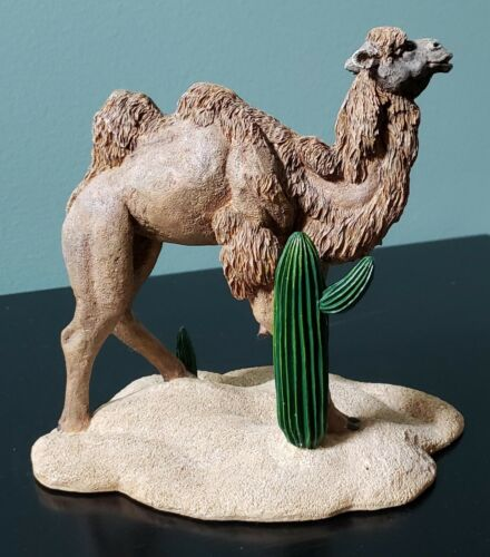 Camel Figurine, Herco Gift Professional on sand base