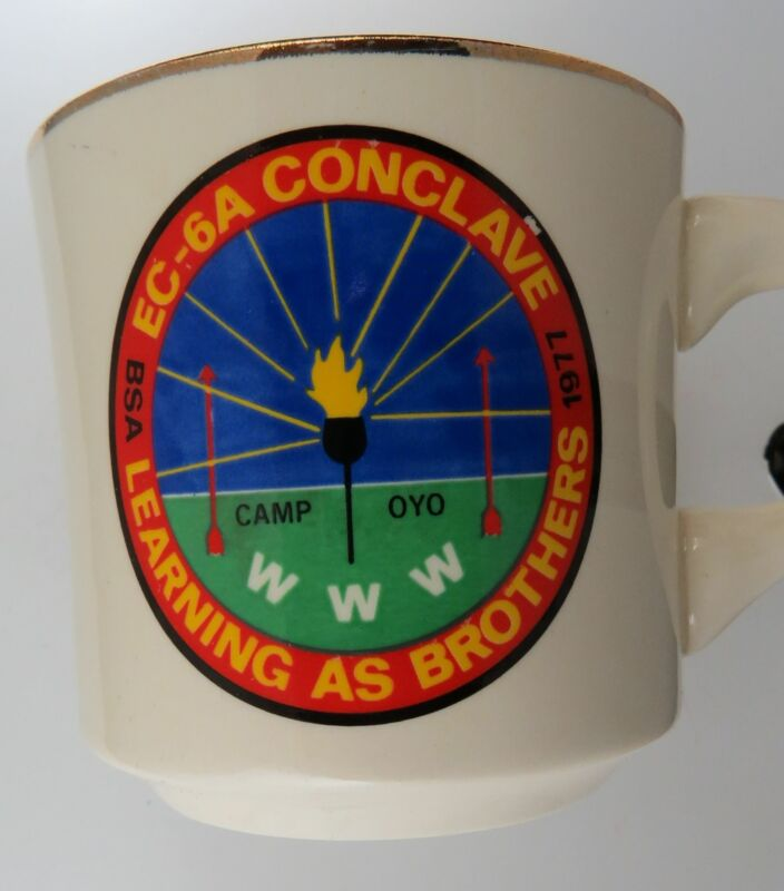 1977 Learning As Brothers EC-6A Conclave WWW Camp Oyo Mug [MUG-682]