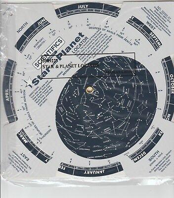 Edmund Scientific Star And Planet Locator  Paperback By Edmund Scientific
