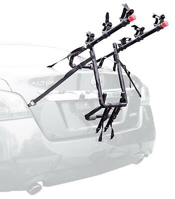 Bike Rack Carrier 3-Bicycle Trunk Mounted Allen Sports Deluxe Hitch for Rear Car