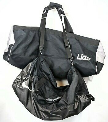 2 Very Large Duffle Bags Lids & Nike Gym Sports Soccer Football Equipment  for sale  Shipping to South Africa