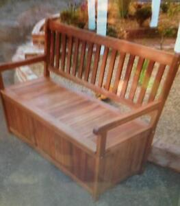 NEW BENCH WITH STORAGE Liverpool Liverpool Area Preview