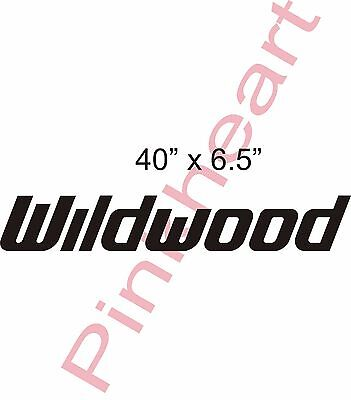 2-Wildwood Decal RV sticker graphics trailer camper rv wildwood graphic USA