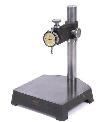 Starrett 653 Comparator Stand W John Bull 2f Dial Indicator 0.5 Range 0.0005