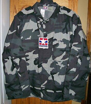 1998 Propper BDU Combat Coat Shirt Jac Urban Camo Ripstop Mens size 3XL NWT Camo Propper Bdu Shirt