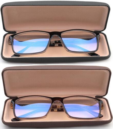 Anti Blue Ray Blue Light Blocking Reading Glasses Anti Glare With Case UV 100%