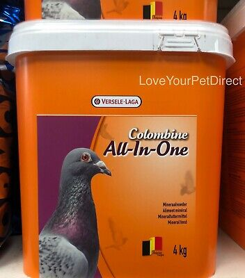 Versele Laga Pigeon Colombine All In One Mix 4Kg Vitamin Bird Food   BMFD DS