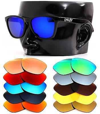 Polarisiert Ikon Iridium Ersatzgläser für Oakley Frogskins Sonnenbrillen