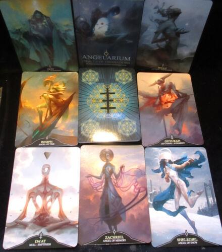SEALED NEW! ANGELARIUM ORACLE OF EMANATIONS CARDS & BOOK KABBALAH SARAPHINS