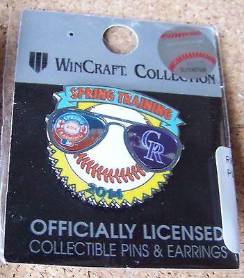 2014 Colorado Rockies Spring Training sunglasses pin MLB Cactus (Sunglasses Colorado Springs)
