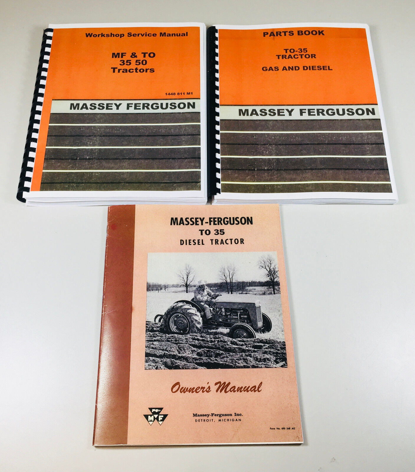 Full Overhaul/Repair manual set
