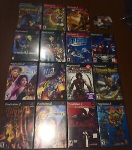 Ps2 PlayStation 2 games for sals