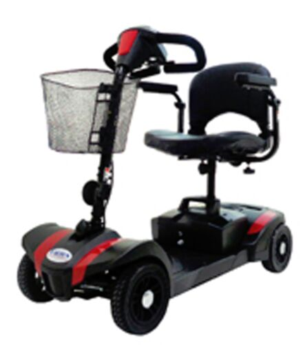 Compact Travel 4 Wheel Mobility Scooter, 300 Lb. Cap., Disassembles, Lightweight