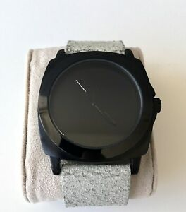 Kenneth Cole Black PVD Fashion Watch
