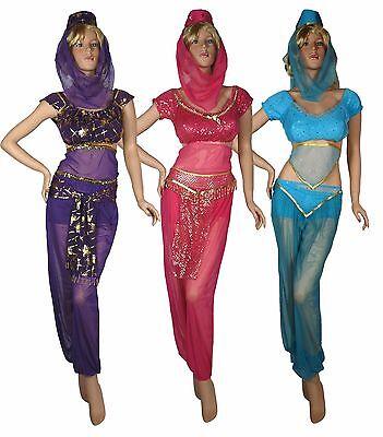 Bauchtanz Harem Kostüm für Fasching Karneval - Harem Tanz Kostüm
