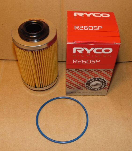 R2605P RYCO Oil Filter for Holden VZ VE VF Alloytec V6 Commodore Adventra SV6