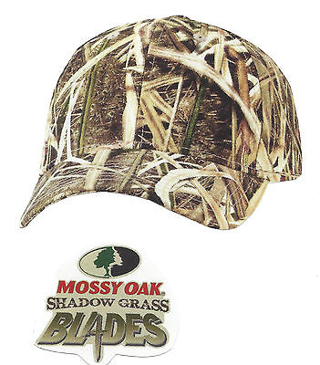 Mossy Oak SHADOW GRASS BLADES Camouflage Camo Hunting Hat Cap 0e950774c6d4