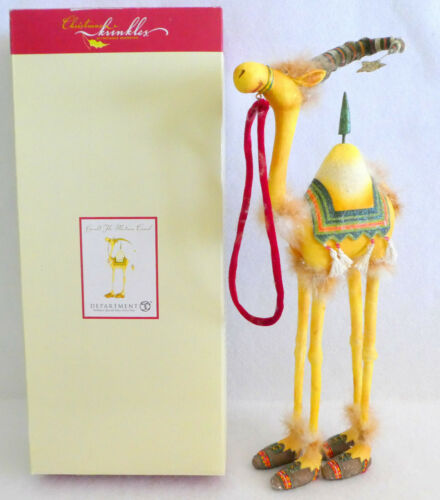 """Patience Brewster Department 56 Krinkles Harold The Medium 16"""" Camel Figure"""