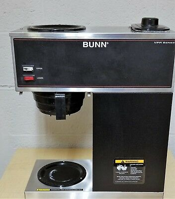 Bunn Vpr 32000.0001 Pour Over 2 Burner Commercial Coffee Brewer For Parts Repair
