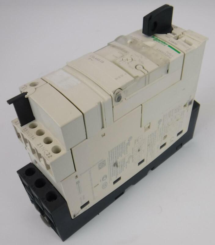 Schneider Electric LUCD32FU TeSys Control Unit with LUB32 Motor Starter