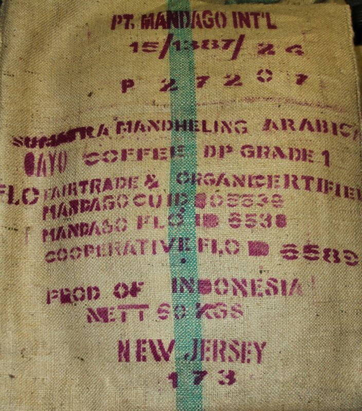 Sumatra Gourmet Coffee Beans Dark Roasted Daily Whole Beans   2 - 1 Pound Bags