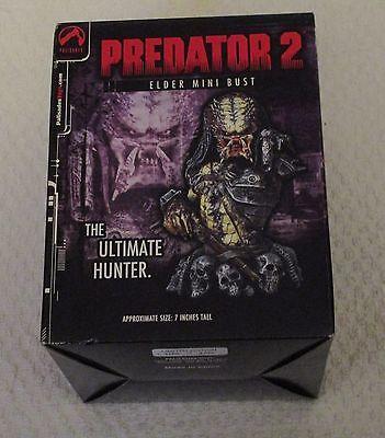 Palisades Predator 2 Elder Mini Bust New Free Shipping