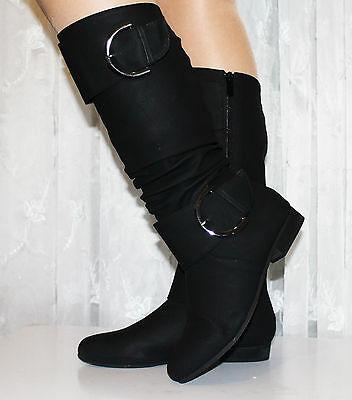 Exclusive Damen STIEFEL warm oder gefütterte Schuhe  schwarz weiss 36 - 41