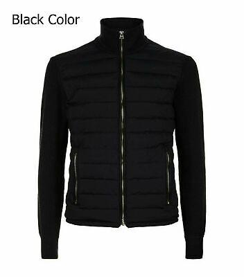 TOM FORD Black James Bond Spectre Knitted Sleeve Bomber Jacket