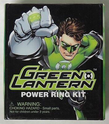Light Up Ring Box (MW016. Green Lantern Power Ring Kit with Book (Light Up Ring) Display Box 2010)