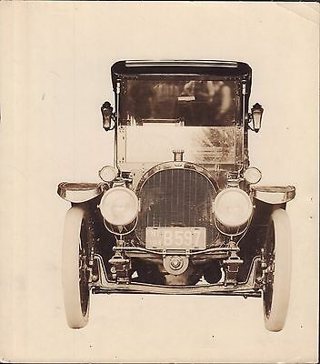 White tired Car 1920's Original Photo North East Electric Co.  061616DBE