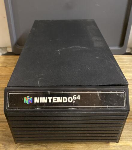 RARE Nintendo 64 12 Cartridge Storage Box Drawer also Stores SNES Games  - $37.99