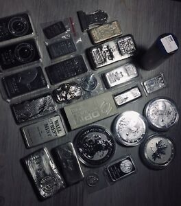 Silver! Lots of Silver! Silver Bullion!