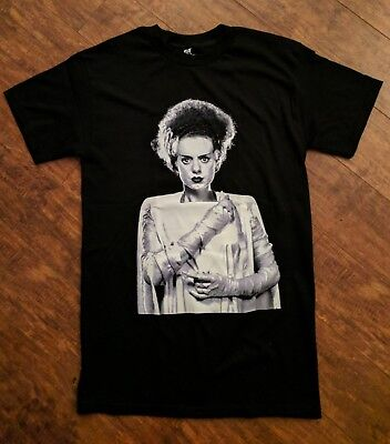 BRIDE OF FRANKENSTEIN HALLOWEEN HORROR MOVIE TSHIRT](Halloween Brides)